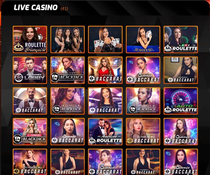 Capture d'écran Casino intense roulette